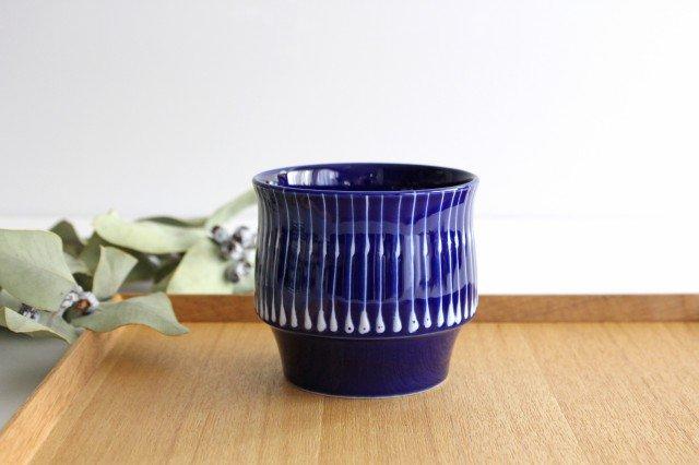 瑠璃 スタックカップ 雨垂れ 磁器 波佐見焼