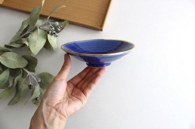 平鉢 青釉金 磁器 波佐見焼 画像5