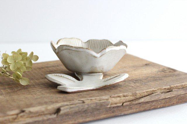 新花小皿 陶器 キエリ舎 画像2