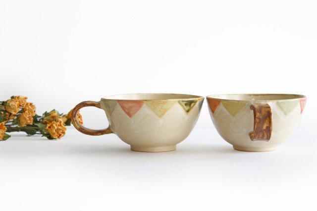 スープカップ ガーランド 陶器 小澤早苗 やちむん 画像4