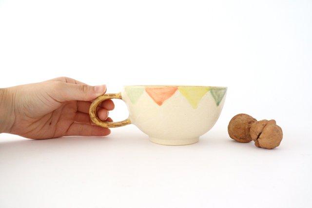 スープカップ ガーランド 陶器 小澤早苗 やちむん 画像6