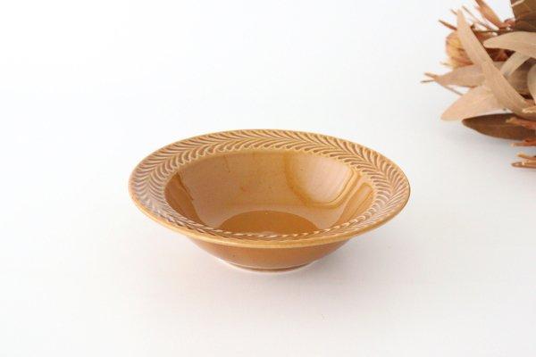 ボウル 琥珀 陶器 ローズマリー 波佐見焼商品画像