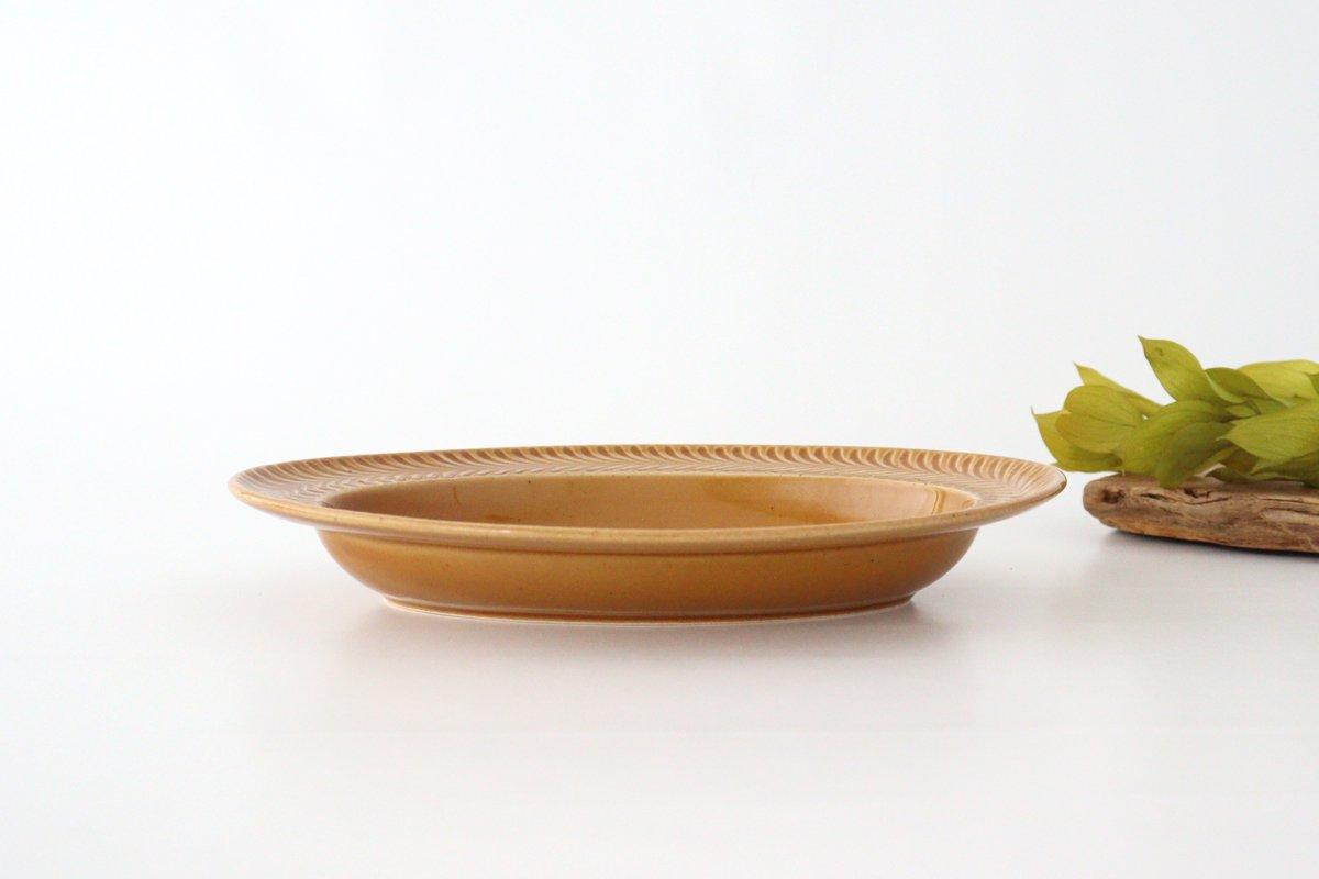 オーバル皿 琥珀 陶器 ローズマリー 波佐見焼 画像2
