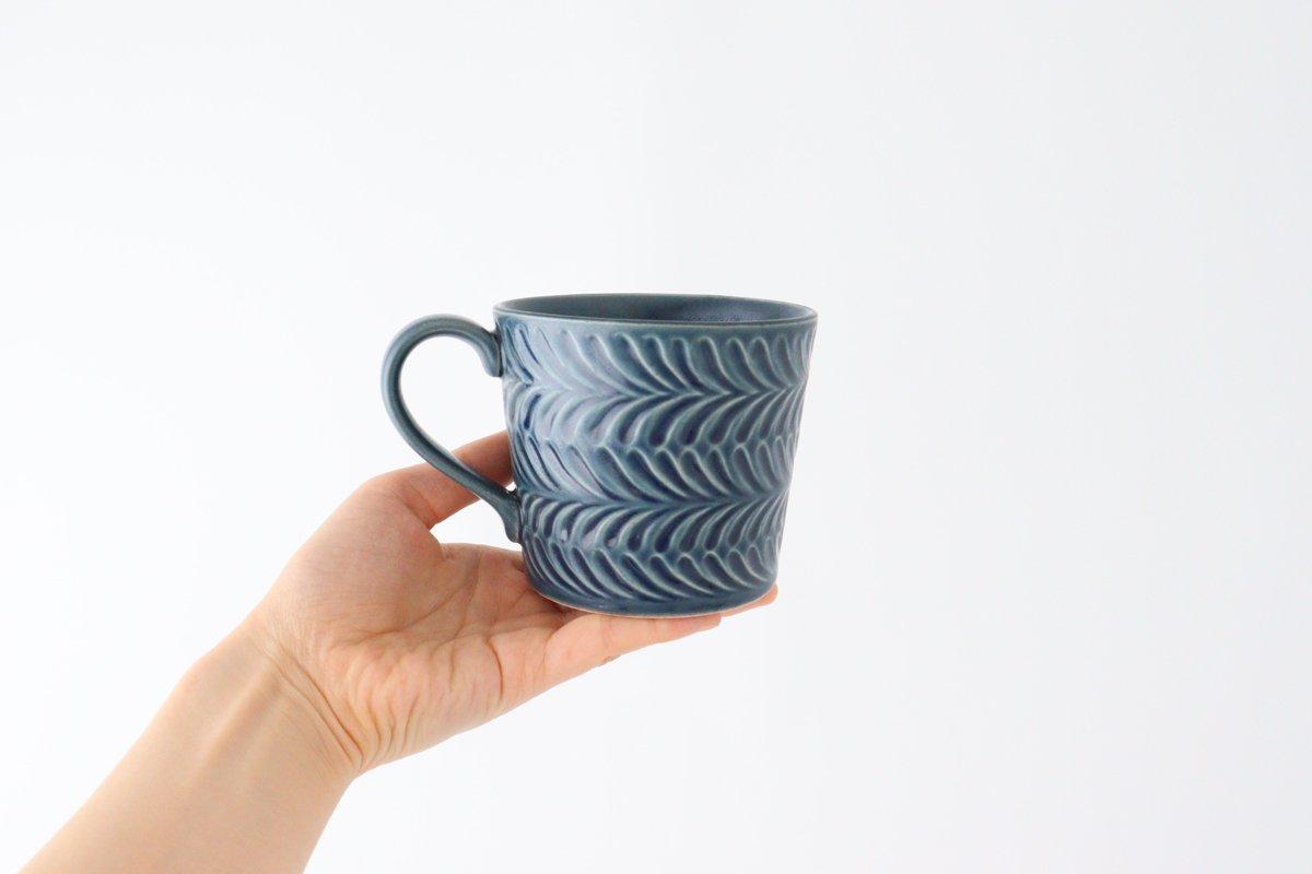 マグカップ デニム 陶器 ローズマリー 波佐見焼 画像3