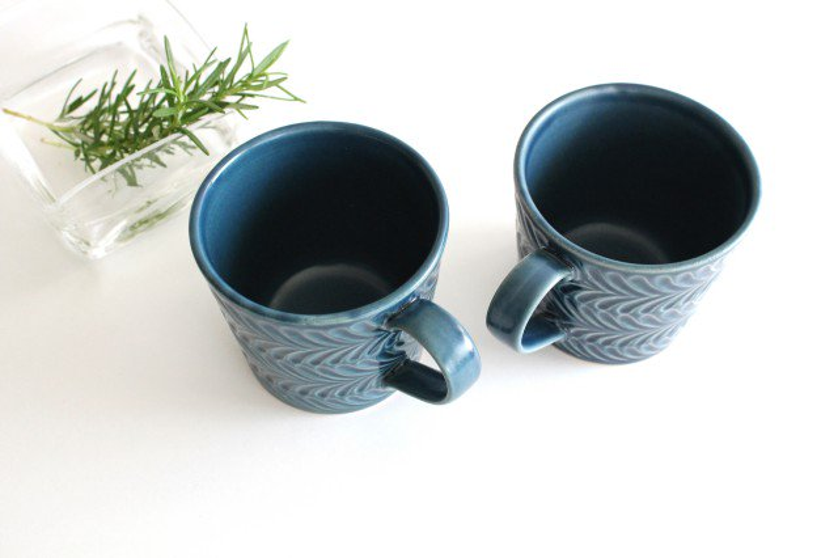 マグカップ デニム 陶器 ローズマリー 波佐見焼 画像6