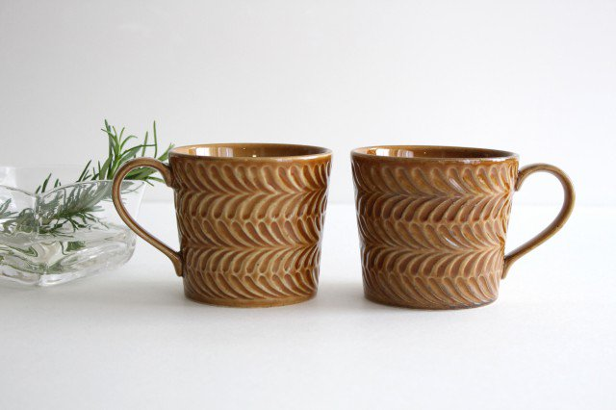マグカップ 琥珀 陶器 ローズマリー 波佐見焼 画像4