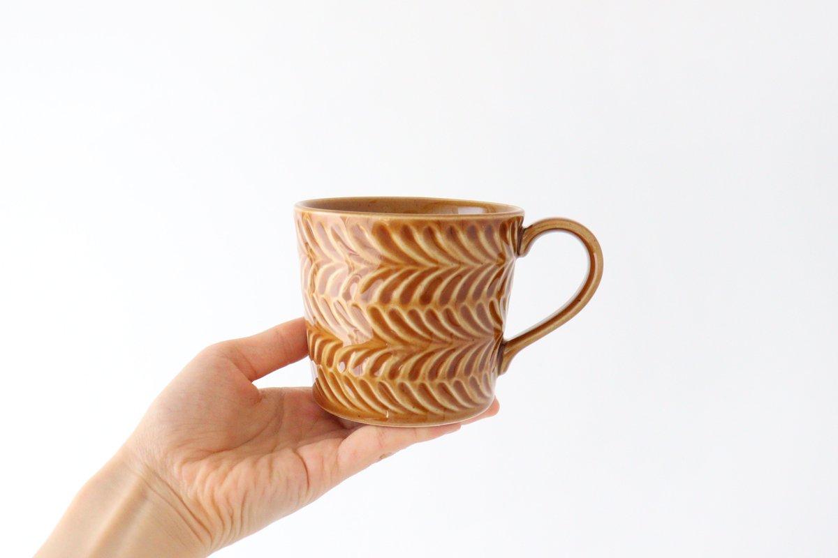 マグカップ 琥珀 陶器 ローズマリー 波佐見焼 画像5