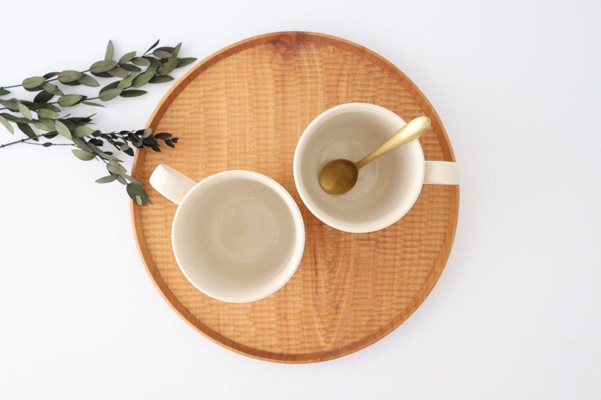 マグカップ アイボリー 陶器 ローズマリー 波佐見焼 画像5