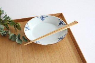 しのぎ5.5寸皿 LEAVES 磁器 皓洋窯 有田焼商品画像