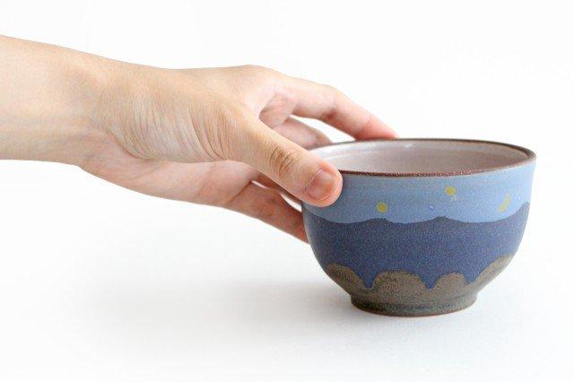 三日月カフェオレボウル 陶器 工房ことりの やちむん 画像6