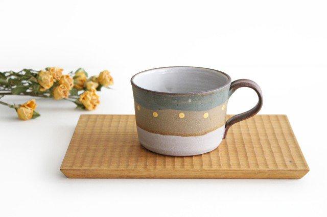 彩りマグカップ 陶器 工房ことりの やちむん