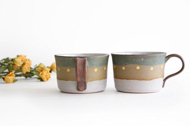 彩りマグカップ 陶器 工房ことりの やちむん 画像3