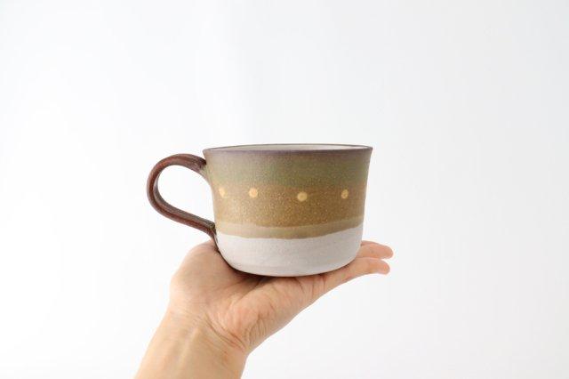 彩りマグカップ 陶器 工房ことりの やちむん 画像6