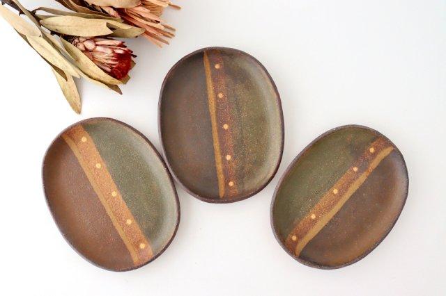 彩りプレート 陶器 工房ことりの やちむん 画像4