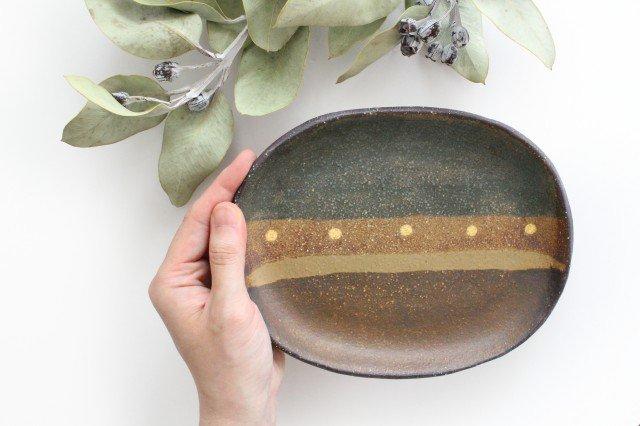 彩りプレート 陶器 工房ことりの やちむん 画像6
