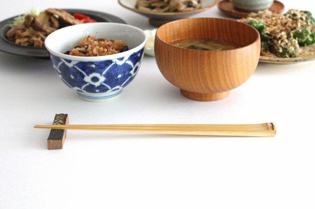 天節箸 白竹 竹工芸