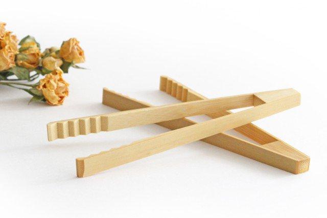 トング 白竹 竹工芸