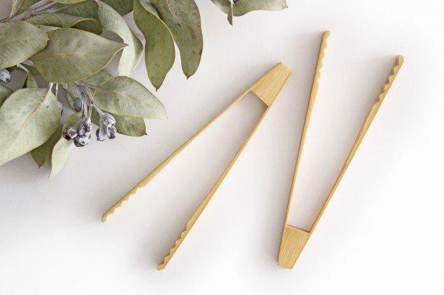 トング 白竹 竹工芸 画像3