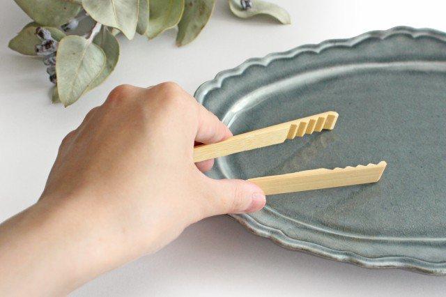 トング 白竹 竹工芸 画像4