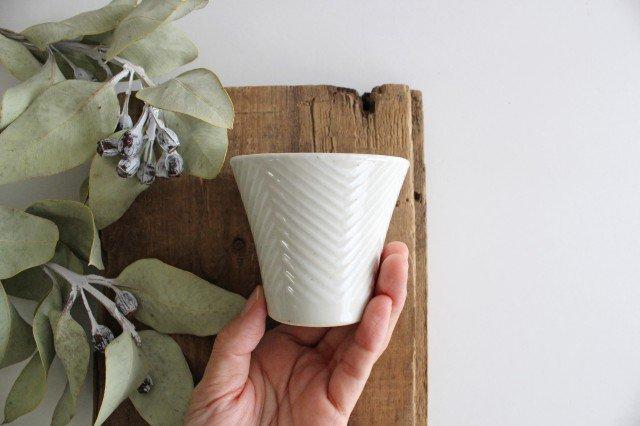 反煎茶 ヘリンボーン 陶器 ORIME 波佐見焼 画像2