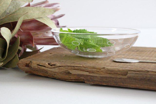 線画の小鉢 ガラス 今村知佐 画像2