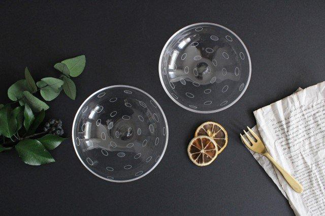 線画の小鉢 ガラス 今村知佐 画像5