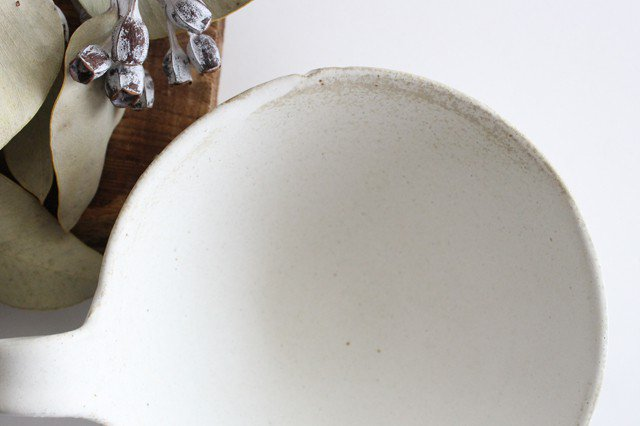 ヘリンボーン スープカップ マットホワイト 陶器 わかさま陶芸 益子焼 画像3