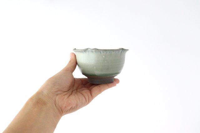 輪花小鉢 彩色灰釉 陶器 市野耕 画像2