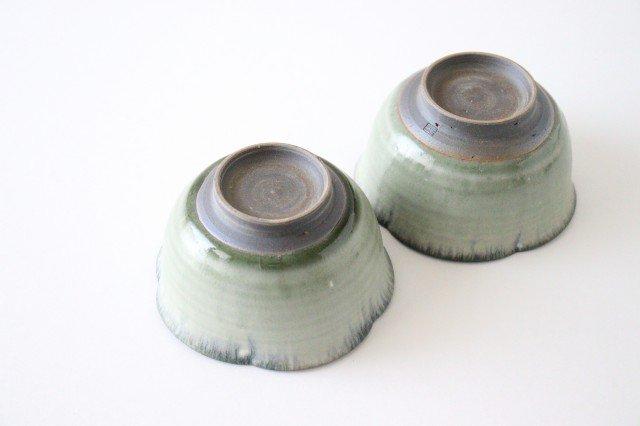輪花小鉢 彩色灰釉 陶器 市野耕 画像4