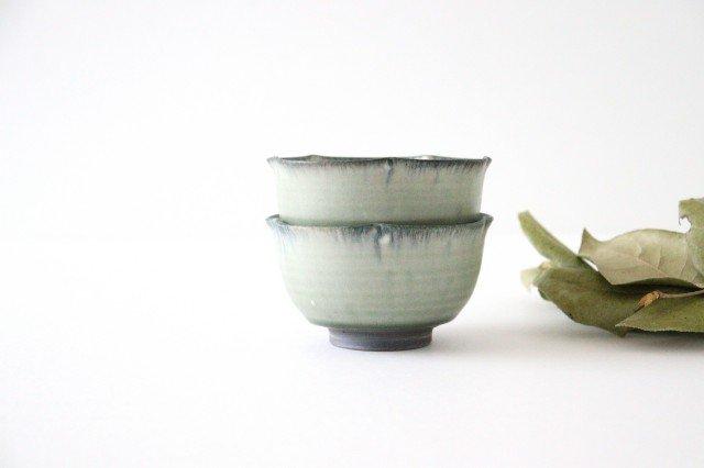 輪花小鉢 彩色灰釉 陶器 市野耕 画像6