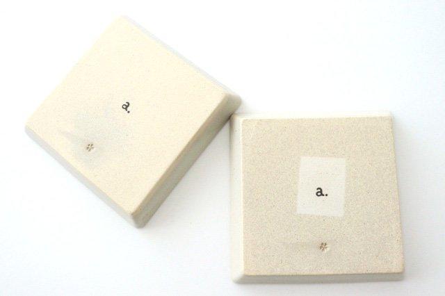 波佐見焼 ORIME ヘリンボーン 正角皿 ホワイト 陶器 画像3