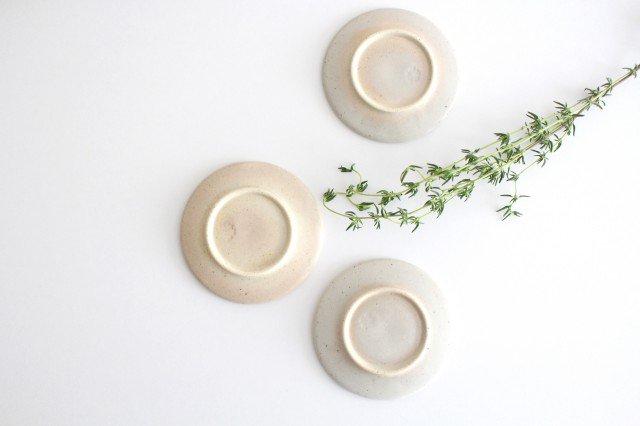 波佐見焼 ORIME 鹿の子 丸豆皿 ホワイト 陶器 画像6