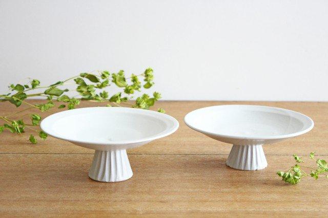 紬器-tumugi- siro コンポート M high 陶器 祥公窯 杉原伸一 画像6