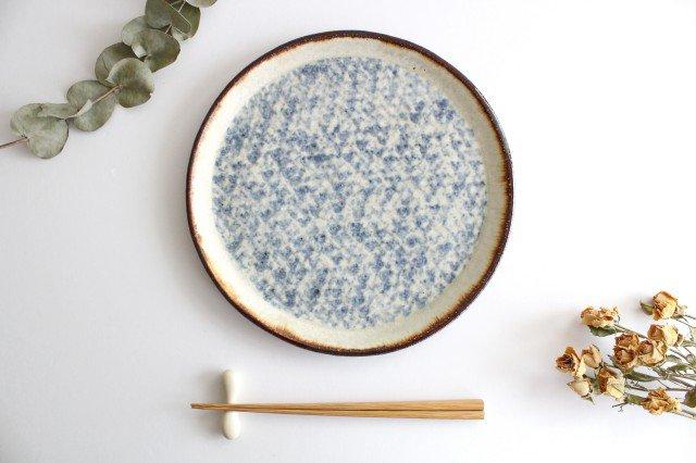 プレート皿 大 陶器 蓮見かおり 益子焼 画像4