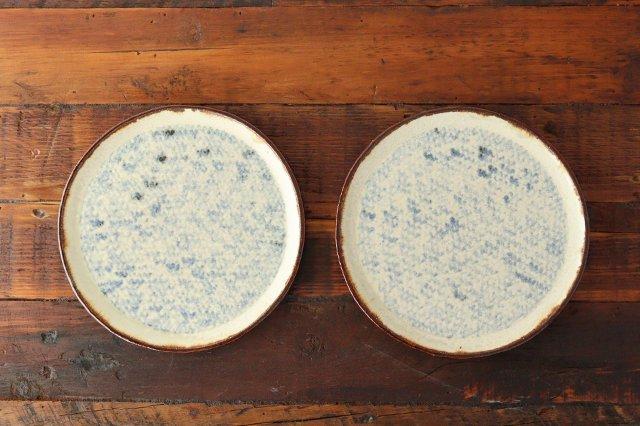 プレート皿 大 陶器 蓮見かおり 益子焼 画像6