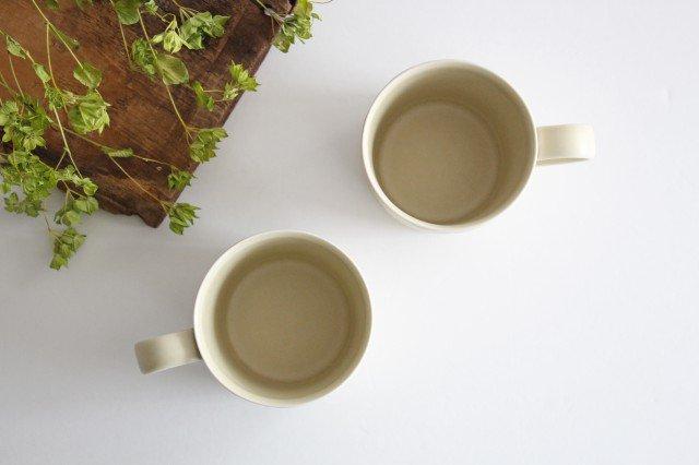 マグカップ グレーフラワー 磁器 すこし屋 砥部焼 画像5