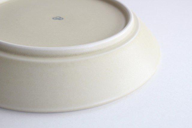 丸皿中 グレーフラワー 磁器 すこし屋 砥部焼 画像5