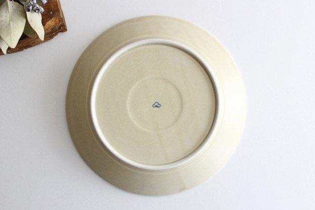 パスタ皿 グレーフラワー 磁器 すこし屋 砥部焼 画像5