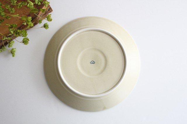 パスタ皿 インディゴフラワー 磁器 すこし屋 砥部焼 画像5