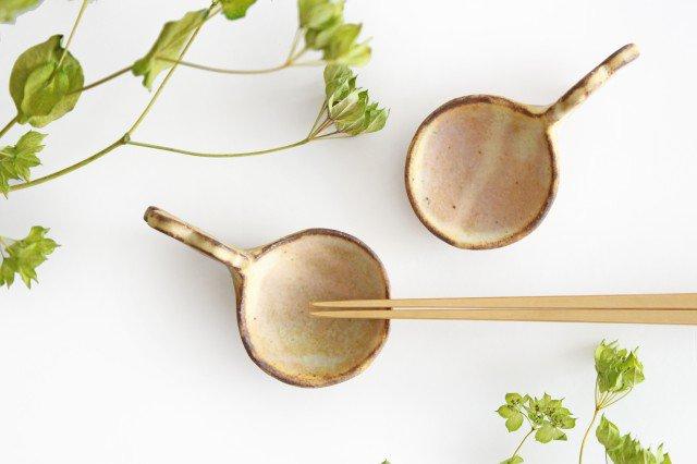 粉福 スプーン箸置き 花 陶器 木のね 画像3