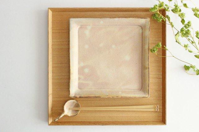 粉福 角皿 大 陶器 木のね 画像2