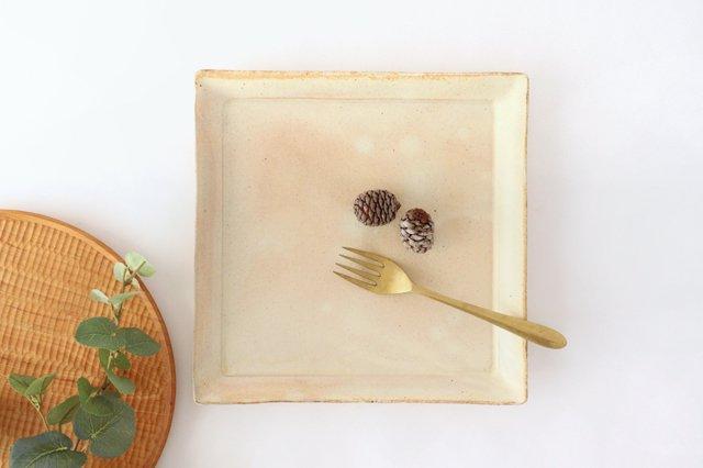 粉福 角皿 ワンプレート 陶器 木のね