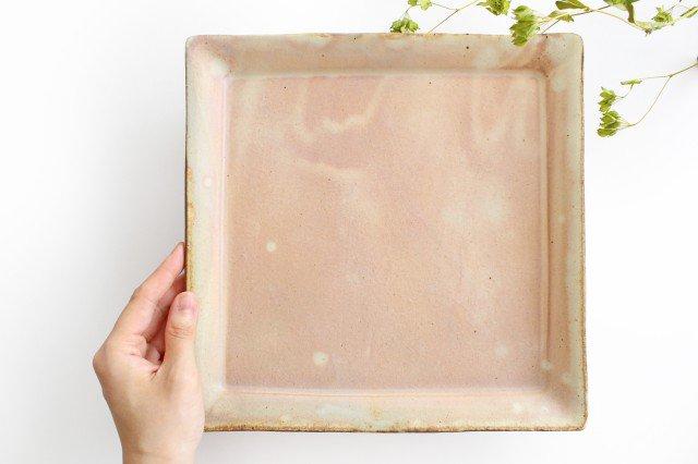 粉福 角皿 ワンプレート 陶器 木のね 画像4