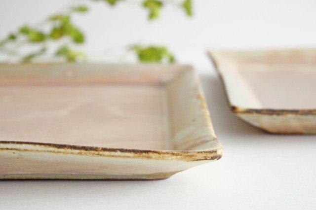 粉福 角皿 ワンプレート 陶器 木のね 画像5
