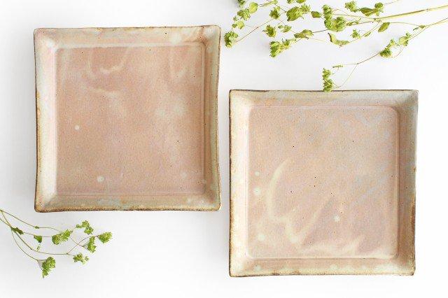 粉福 角皿 ワンプレート 陶器 木のね 画像6