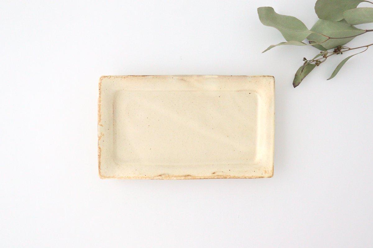 粉福 角皿 fish 陶器 木のね 画像2