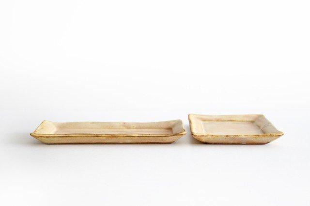 粉福 角皿 fish 陶器 木のね 画像3