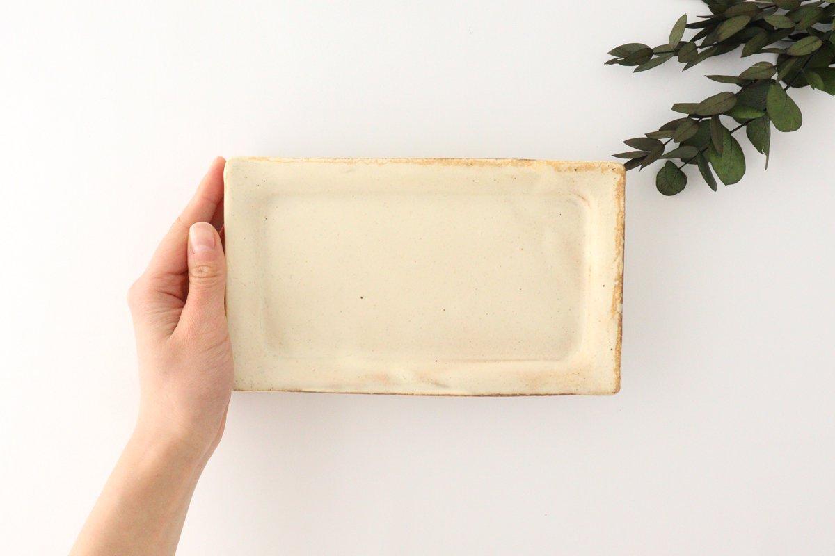 粉福 角皿 fish 陶器 木のね 画像5