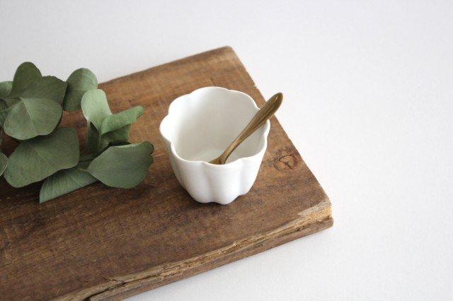 カヌレ茶器 茶杯 白 磁器 藤村佳澄