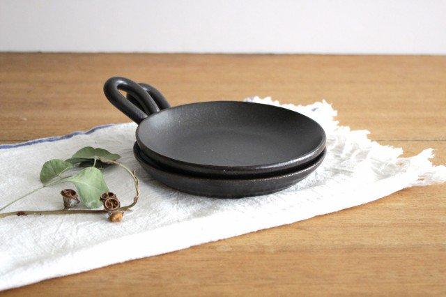 《耐熱陶器》萬古焼 手付きプレート 画像3